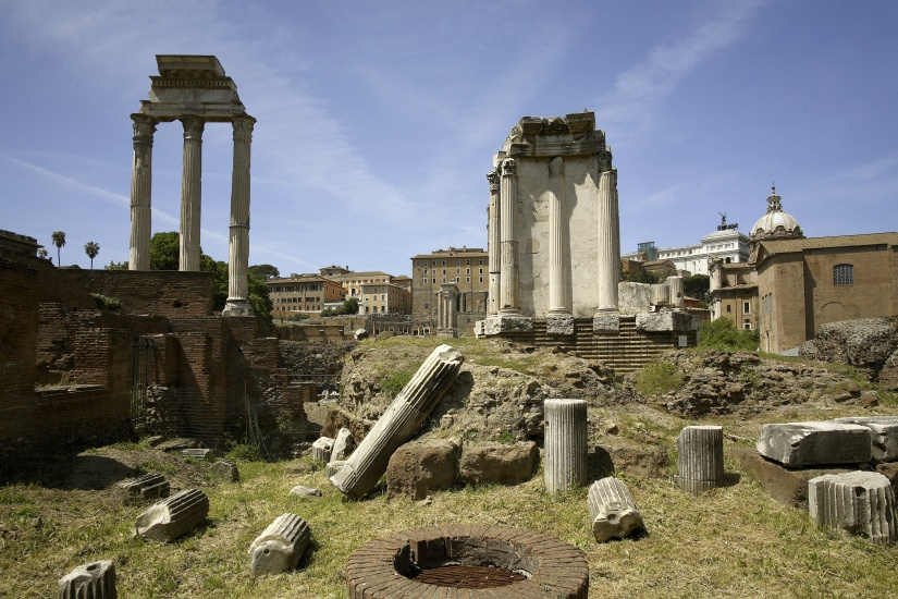 Castore and Polluce Temple, Foro Romano, Rome