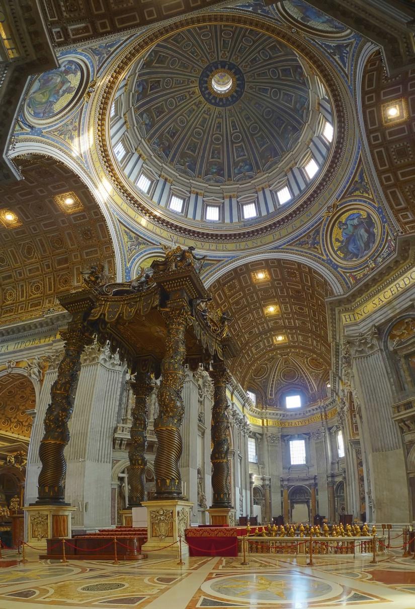 St Peter's Basilica - baldachin