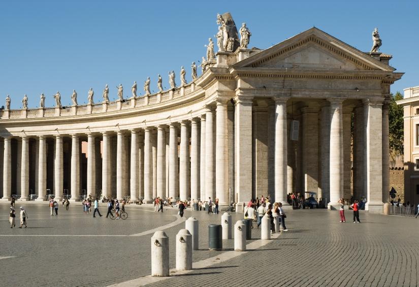 Piazza San Pietro, Colonnato, Roma