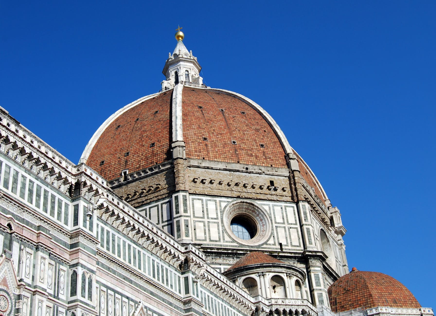 italy cathedral dome tuscany
